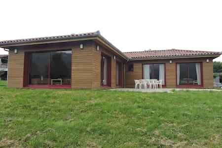 Maison bois au cœur du piémont pyrénéen - Bize - Maison