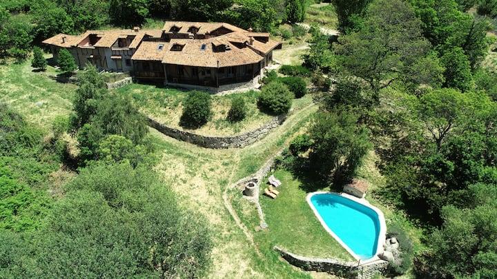 Hotel Rural Abejaruco, 1 hab. doble con jardín