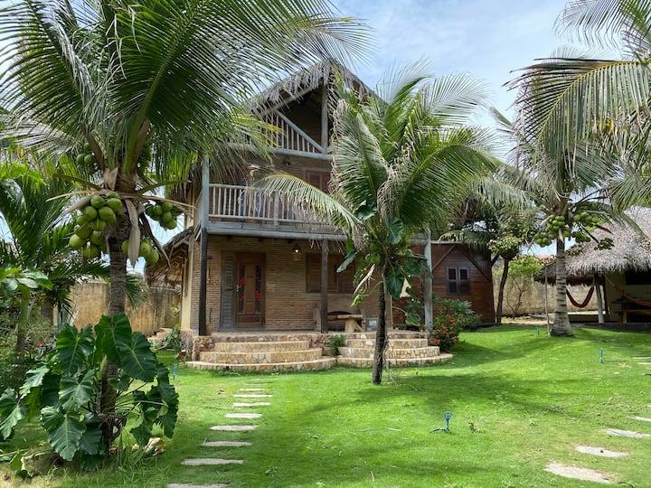 ¤ Casa rústica a 50m da praia de Canoa Quebrada ¤