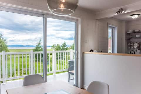 Your apartment on the river in Kamouraska