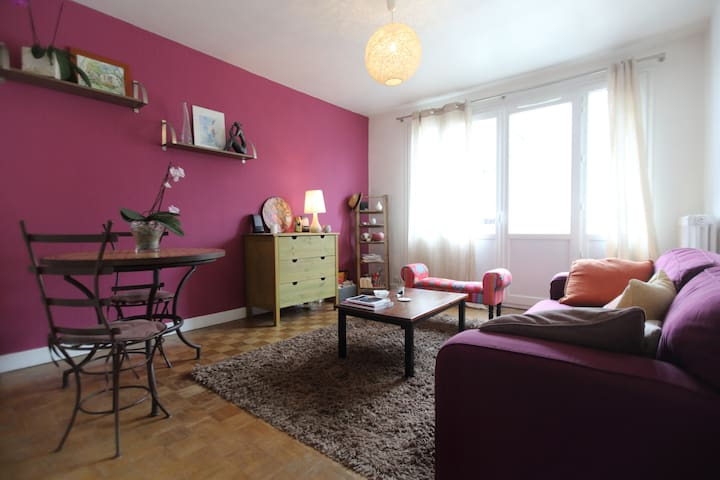 Appartement cosy, calme en centre ville (parking) - Tours - Bed & Breakfast