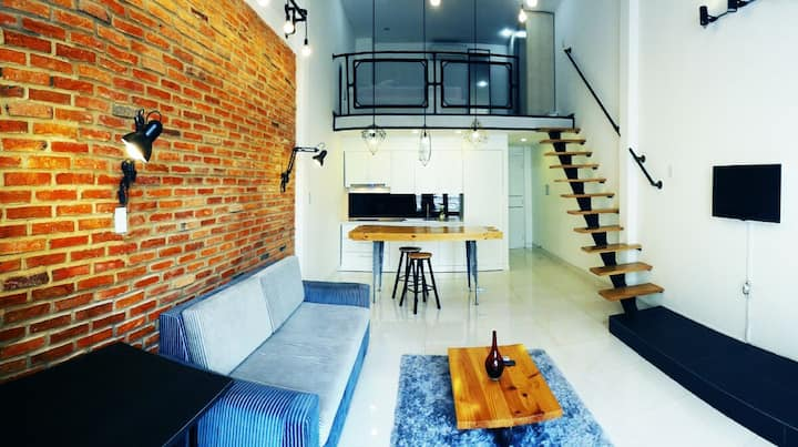 LOFT APARTMENT for rent in Downtown - District 1