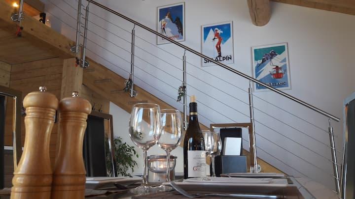 Luxueux appartement duplex dans Chalet (83 m²)