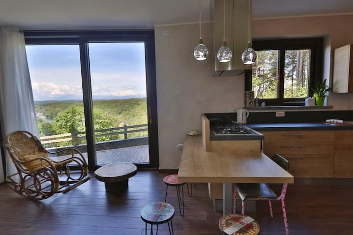 Deluxe Junior Suite con vista su Fiume e Montagne