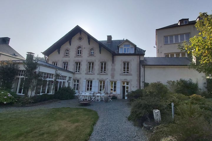 Elegant Mansion in Bouillon with Fenced Garden