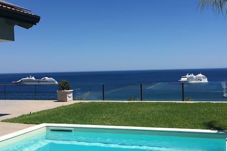 180 Grad Meerblick VILLA VITTORIO - Giardini Naxos - Loft