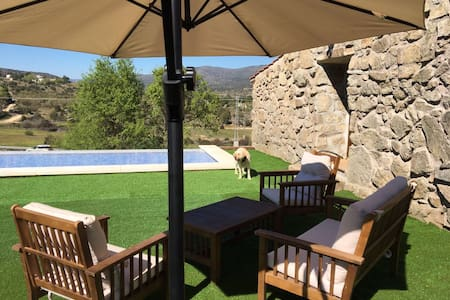 Fantastic house in front of the lake near Madrid - El Barraco - Дом