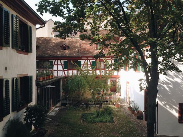 Idyllic House in the Old Town with Garden - Bazel - Huis
