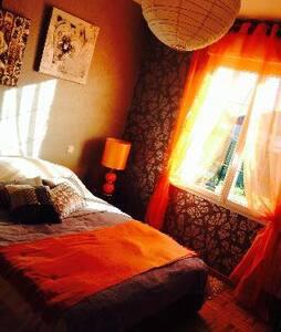 chambre chez l'habitant à la campagne - Dům
