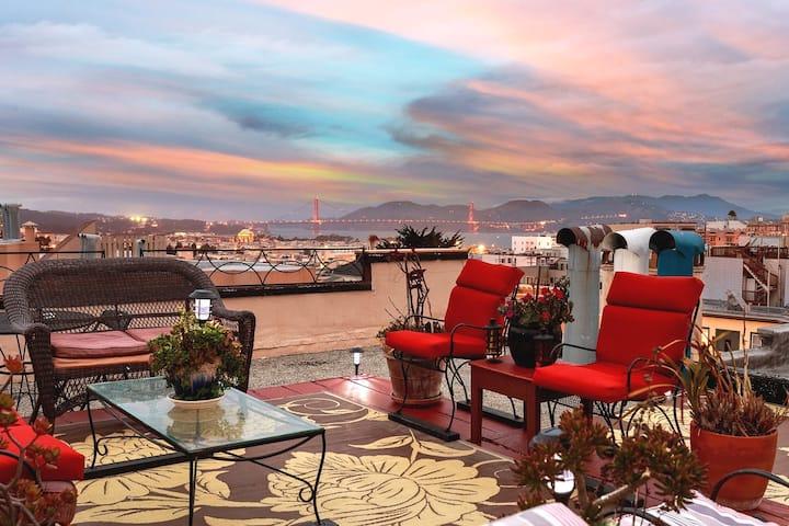 My Beautiful City By The Bay San Francisco Ca.