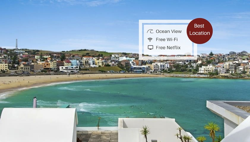 Bondi Beach Spacious Studio With Ocean View