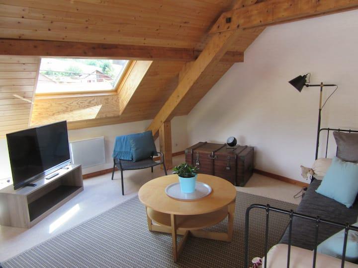 Appartement de charme avec espace extérieur