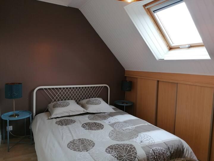 Chambre privée confortable aux portes de Rennes