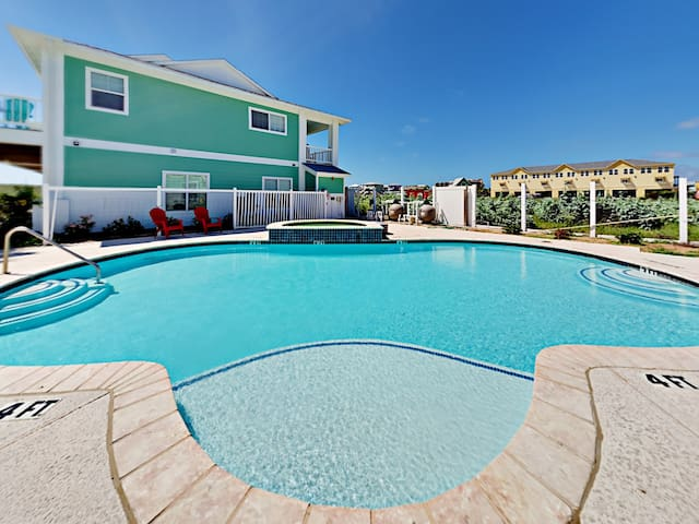 Enjoy access to a large sparkling pool -- just steps from your front door!