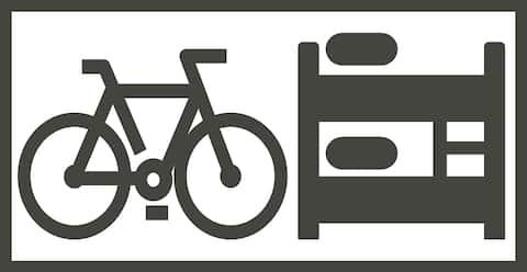 Biker friendly accommodation