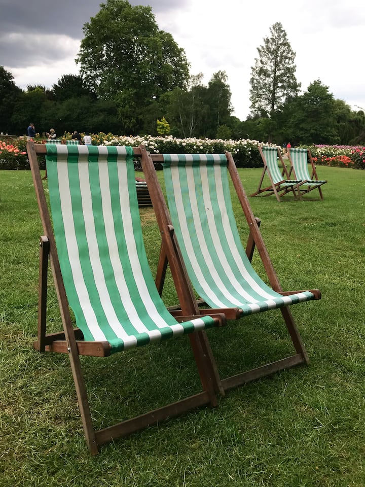 Deckchair Life Coaching in Regents Park