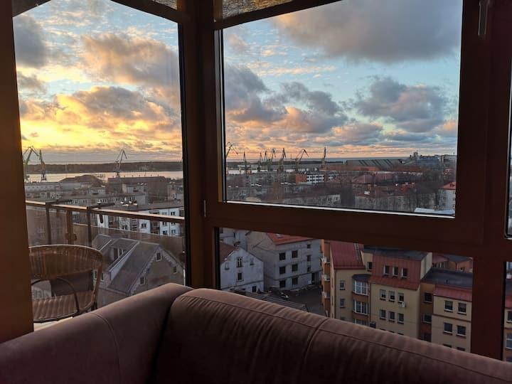 Sea view Liepa Apartment