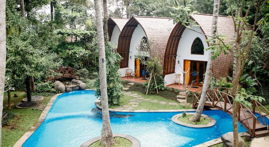 Awesome Deluxe Villa at Centre Ubud - Ubud - Apartment