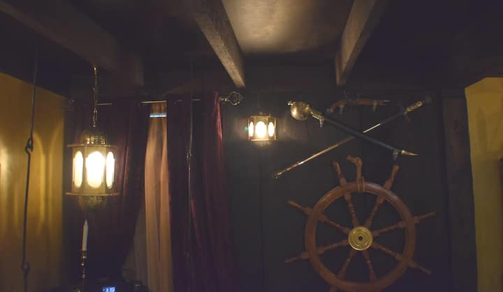 The Pirate Room at The Lost Pearl