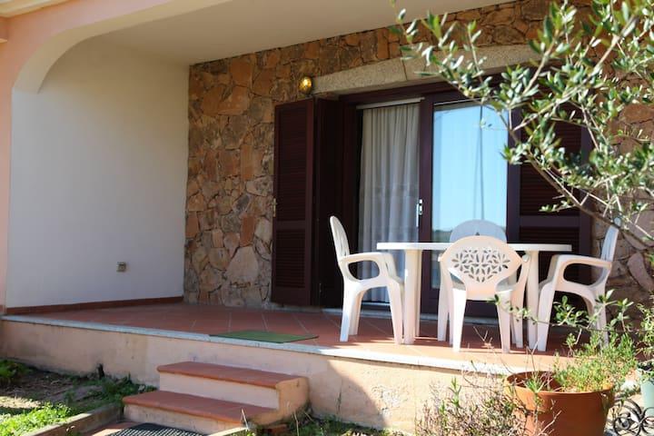 Appartamento con giardino a Lu Impostu