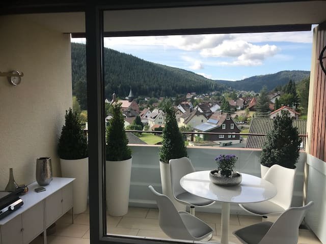 Modernes Appartement mit sensationeller Aussicht