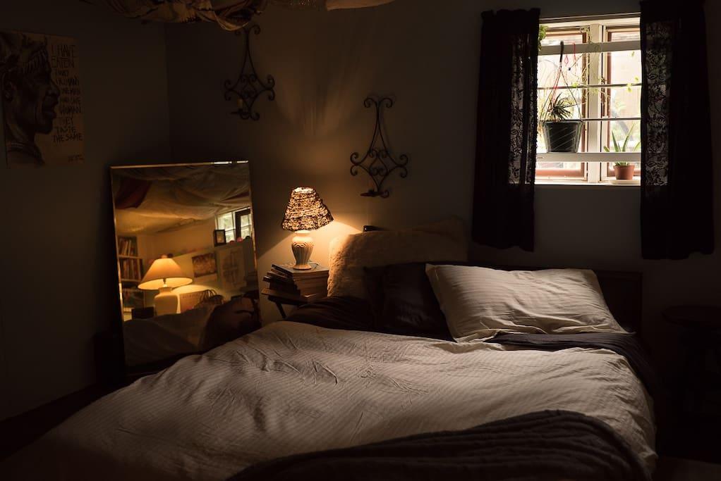 Bedroom again...