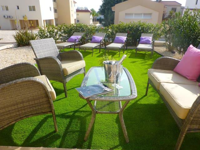 A1, Nissi 3,  2 bedroom garden apartment