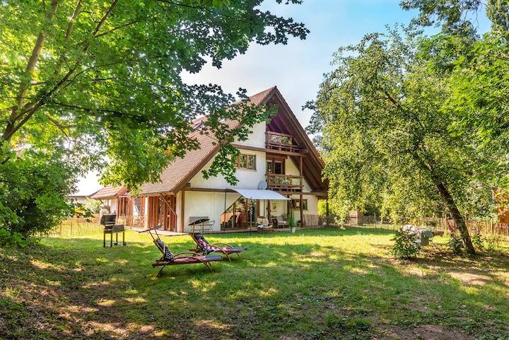 Sibylls Landpartie, (Oberkirch-Nußbach), Ferienwohnung Black Forest, 60qm, 1 Schlafzimmer, max. 3 Personen