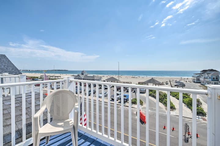 NEW! Ocean View Right Across From the Beach!