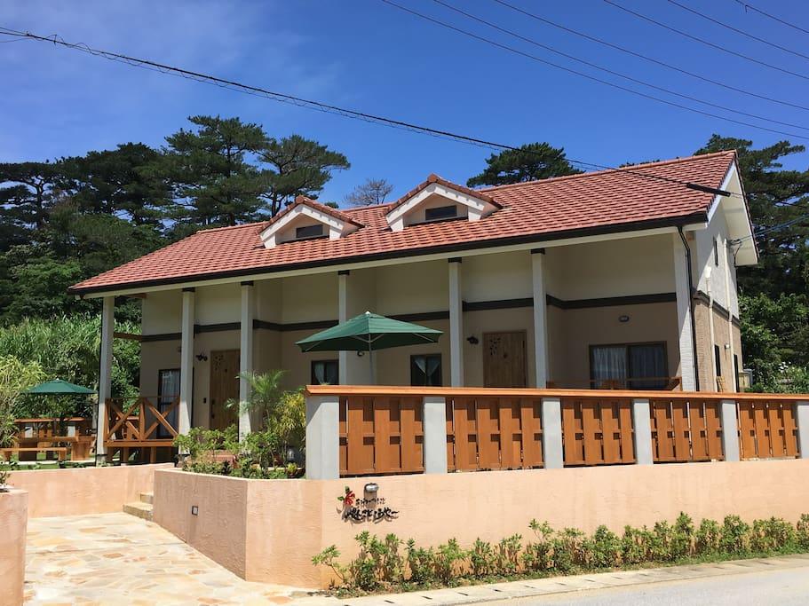Nakijin Lodge Pensajoya 外観
