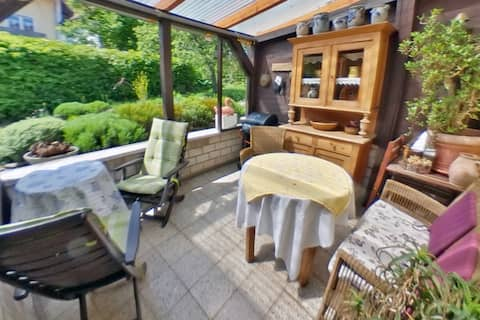 """Holiday Home """"Alte Dorfstube"""" ancient village room"""