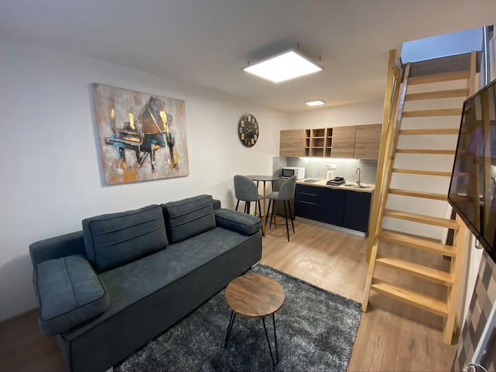 Apartman modern B1 CENTAR, self check in 2+3 osobe