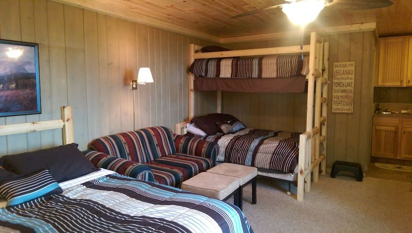 Ski and Golf Shanty Creek Resort Condo Bellaire MI