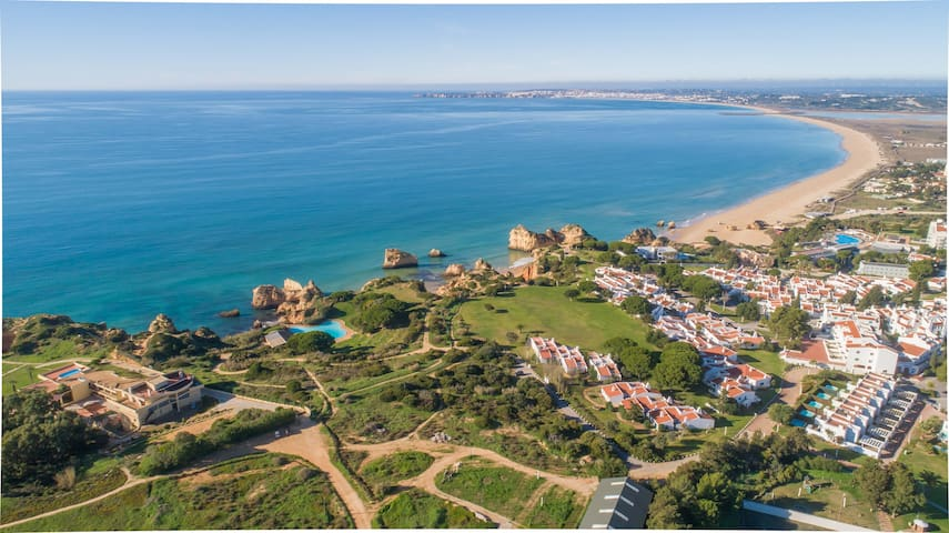 Beachfront Sunny apartment Prainha Alvor