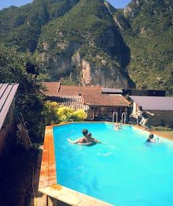 Maison La Montagne, 3 chambres, 8-10 personnes - Ornolac-Ussat-les-Bains - Haus