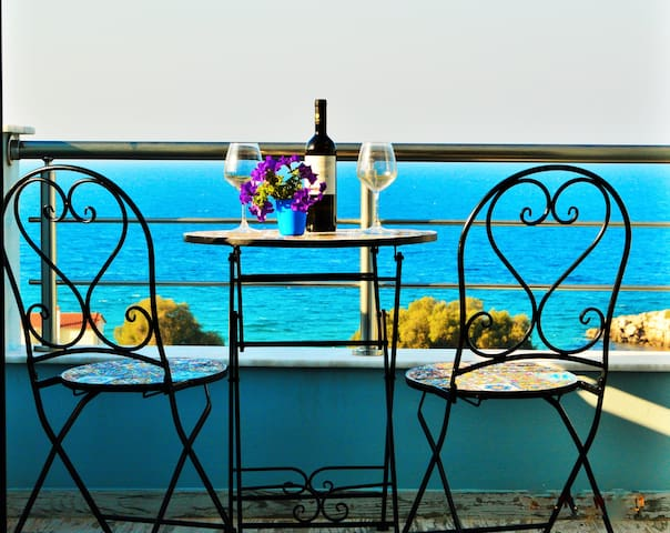 Beach Front with Magnificent view Villa Tania