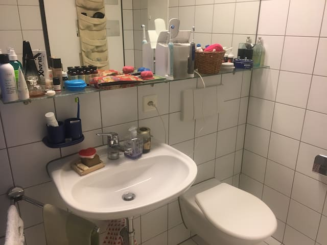 cozy room near central station Zug
