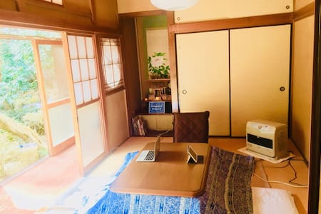 Free boxing training! Japanese style 4 futons room
