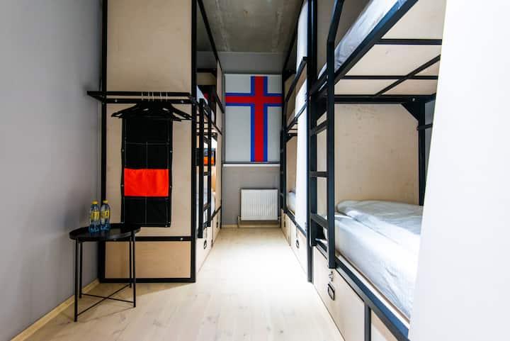 Urban Hostel 6-Bed Dorm