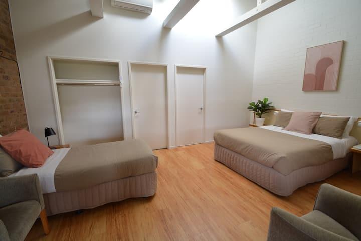 TWIN ROOM BEACHFRONT MOTEL APOLLO BAY