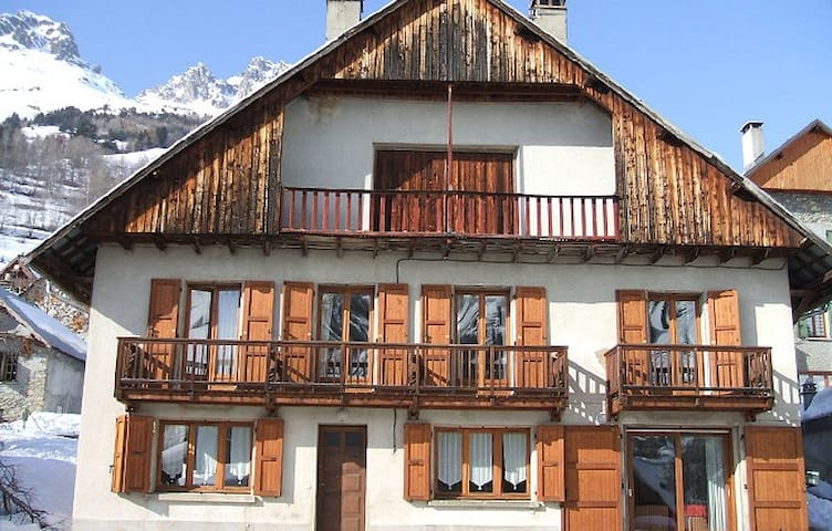 Chalet with wonderful mountain view - Vaujany