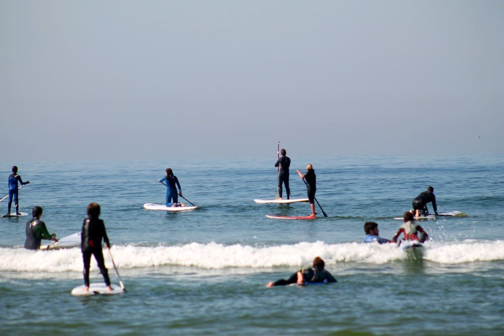 Beach for surf