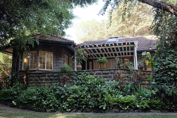 Serene, private room in beautiful forest home - Nairobi - Hus