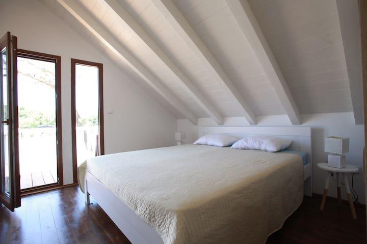 Bedroom 1- first floor and terrace door