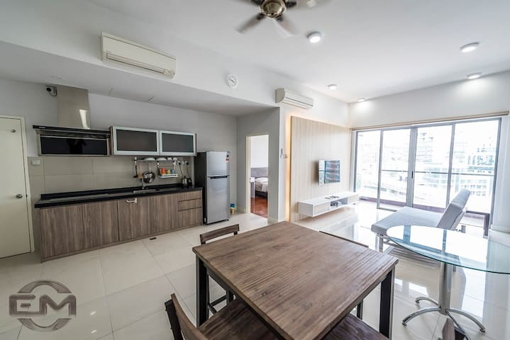 The Loft Imago 1 @ KK City Centre - Kota Kinabalu - Appartement