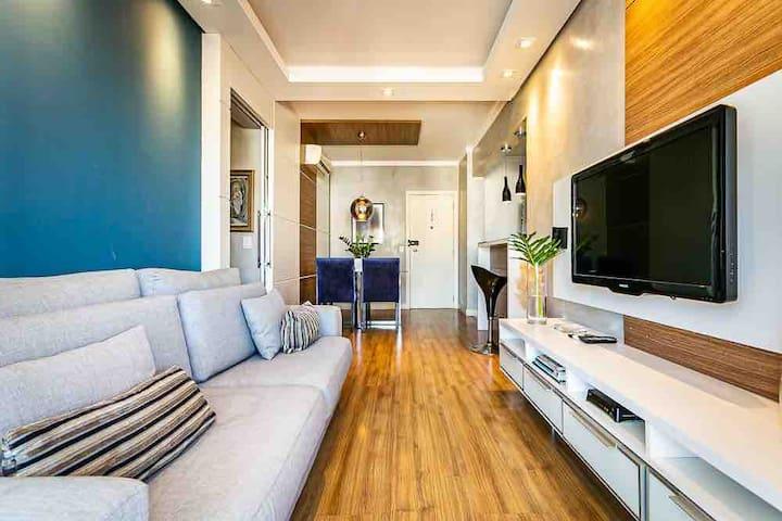 Apartamento maravilhoso com localização incrível