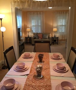 Cozy 3 BR, AT MINUTES to NYC - 李堡(Fort Lee) - 独立屋