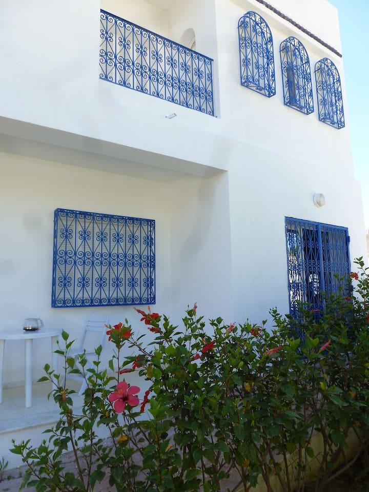 Villa calme avec son jardin et à 10 mn de la mer