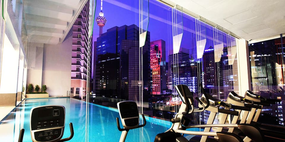 LUXURY SUITE INVITO BUKIT BINTANG (KL Tower view) - Kuala Lumpur - Appartement