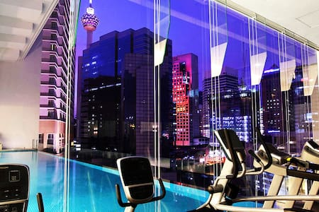LUXURY SUITE INVITO BUKIT BINTANG (KL Tower view) - 吉隆坡 - 公寓